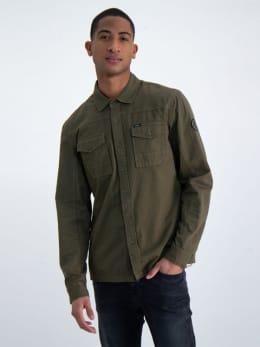 garcia overhemd n01100 groen