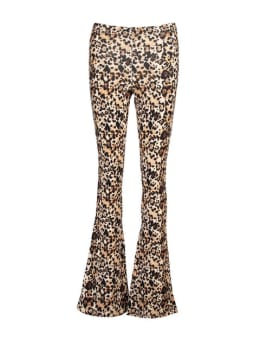 cars flared broek zuma panterprint