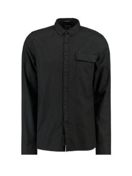 garcia overhemd h91231 zwart
