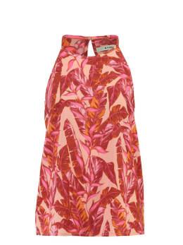 garcia top PG900703 multicolor rood