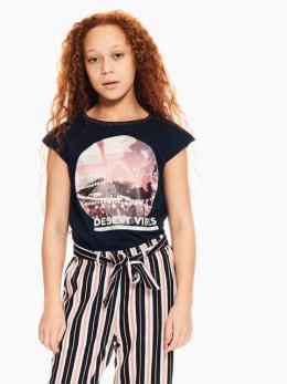 garcia t-shirt donkerblauw p02602
