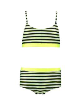garcia bikini gestreept donkerblauw q02562