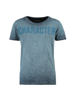 Garcia T-shirt Korte Mouwen PG930101 Blauw