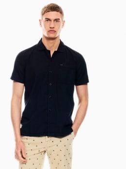 garcia overhemd donkerblauw q01038
