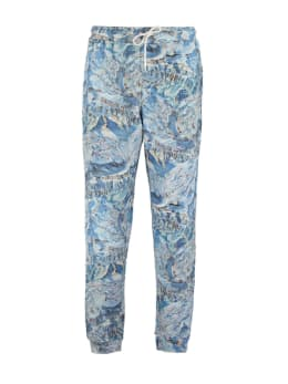 dedicated jogger met allover design blauw