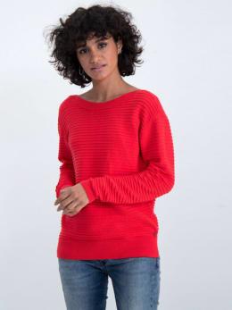 garcia geribbelde trui gs000142 rood