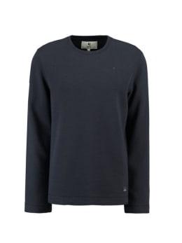 garcia t-shirt met lange mouwen g91062 blauw