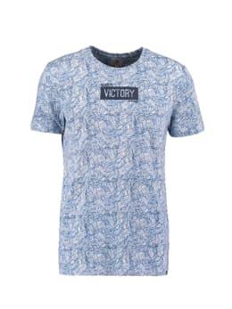 garcia t-shirt met print wit pg010314
