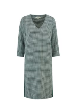 garcia jurk met print j90281 groen