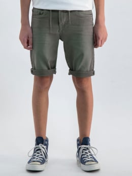 garcia jog denim short groen