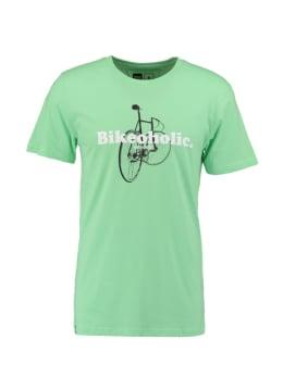 dedicated t-shirt bikeoholic mintgroen