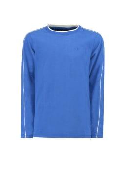 garcia t-shirt lange mouw g93406 blauw