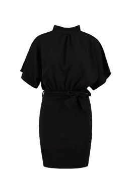 sisterspoint korte jurk zwart