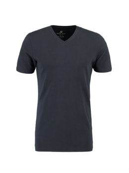 jc basic organic cotton T-shirt JC010004 donkerblauw