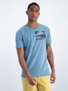 garcia t-shirt o01002 blauw