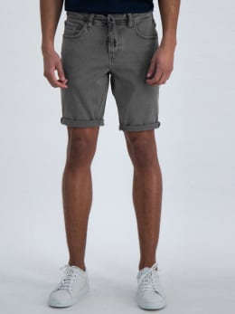 garcia jog denim short grijs
