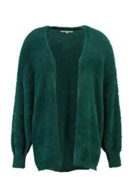 garcia fluffy vest gs900754 groen