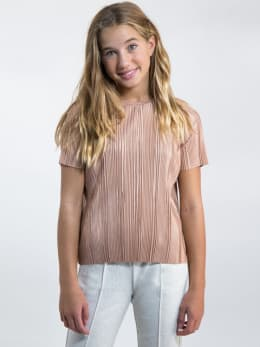 garcia t-shirt met korte mouwen L92605 roze