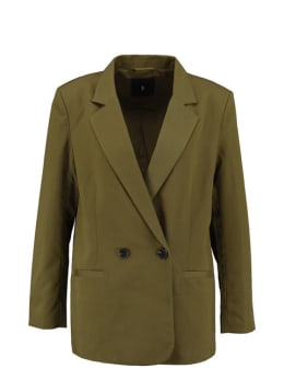 sisterspoint double breasted blazer groen