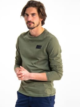garcia long sleeve h91214 groen