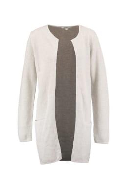 garcia halflang vest gs900753 wit