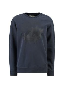 garcia sweater i91064 donkerblauw