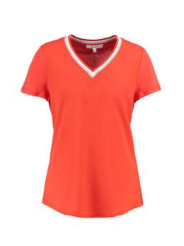 garcia t-shirt met korte mouwen ge900502 roodoranje