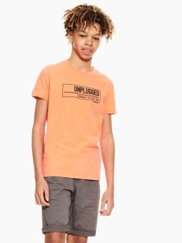 garcia t-shirt oranje p03608