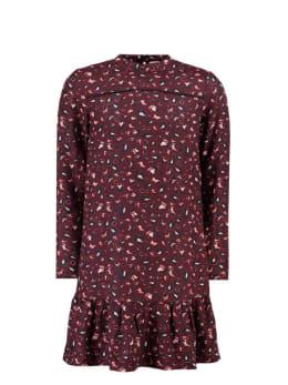 garcia panterprint jurk i92482 rood
