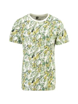 dedicated T-shirt met bananenprint stockholm groen