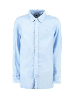 garcia overhemd g93430 blauw