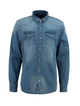 Rockford Mills denim overhemd RM910201 blauw