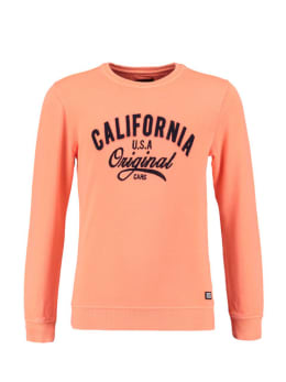 cars sweater oranje boycar