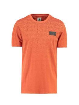 garcia t-shirt met korte mouwen I91004 oranje