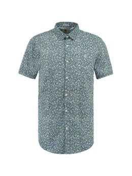 Garcia Shirt Korte Mouwen D91234 Blauw