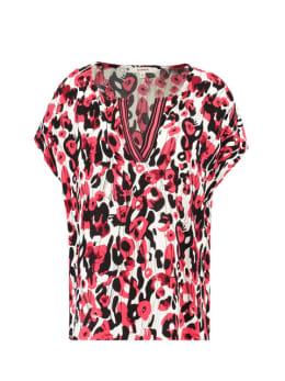 Garcia Shirt Korte Mouwen D90234 Rood
