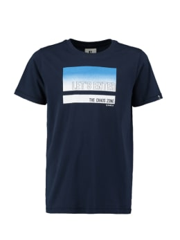 garcia t-shirt donkerblauw pg030305