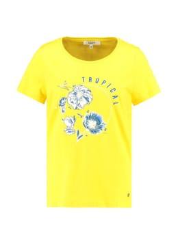 garcia t-shirt tropical e90003 geel