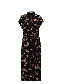 garcia jurk zwart s00083