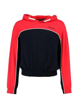 garcia hoodie j92661 rood blauw