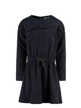 garcia jurk i94481 donkerblauw