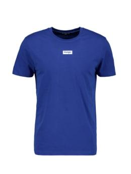 wrangler t-shirt met opdruk donkerblauw