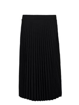 yezz plissé rok zwart py000203