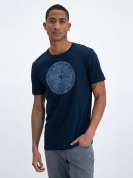 garcia t-shirt o01001 donkerblauw