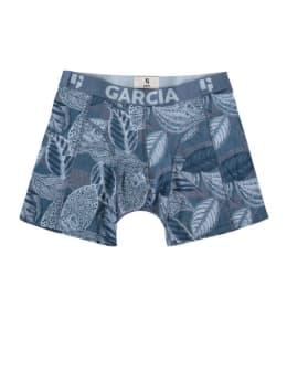 garcia boxershort met print pg910548 blauw