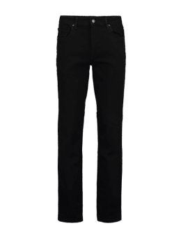 pilot palmer regular fit black denim