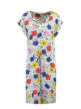 garcia jurk korte mouwen e90083 groen