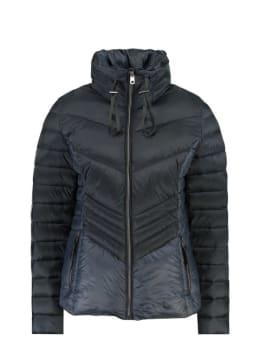garcia puffer jas met opstaande kraag gj900903 donkerblauw