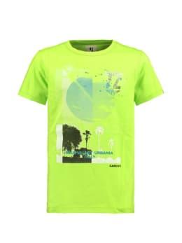 garcia t-shirt met opdruk e93400 groen