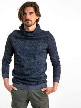 garcia sweater met col h91265 zwart